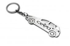 Keychain KIA Ceed I 5D 2006-2012 - (type STEEL)