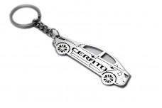 Keychain KIA Cerato II TD 2008-2013 - (type STEEL)