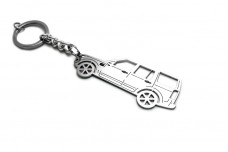 Keychain Land Rover Discovery III 2004-2009 - (type STEEL)