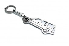 Keychain Land Rover Discovery IV 2009-2016 - (type STEEL)