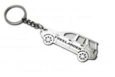 Keychain Land Rover Freelander II 2006+ - (type STEEL)