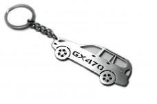 Keychain Lexus GX 470 2002-2009 - (type STEEL)