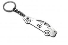 Keychain Lexus IS II 2005-2013 - (type STEEL)