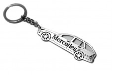 Keychain Mercedes C-Class S203 2001-2007 Universal - (type STEEL)