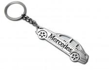 Keychain Mercedes C-Class W205 2014+ - (type STEEL)