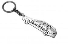 Keychain Mercedes E-Class S211 2002-2009 Universal - (type STEEL)