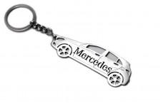 Keychain Mercedes A-Class W176 2012-2018 - (type STEEL)