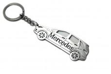 Keychain Mercedes B-Class W245 2005-2011 - (type STEEL)