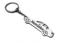 Keychain Mercedes C-Class W204 2007-2014 - (type STEEL)