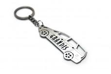 Keychain Mitsubishi Grandis 2003-2011 - (type STEEL)