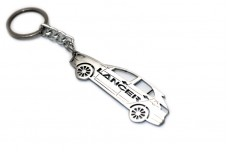 Keychain Mitsubishi Lancer X 5D 2007+ - (type STEEL)