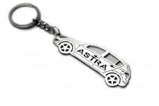 Keychain Vauxhall Astra V 5D 2004-2010 - (type STEEL)