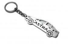Keychain Opel Astra J 4D 2009-2015 - (type STEEL)