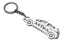 Keychain Vauxhall Astra VI 2009-2015 - (type STEEL)