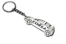 Keychain Opel Corsa D 2006-2014 - (type STEEL)