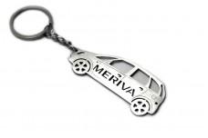 Keychain Vauxhall Meriva A 2002-2010 - (type STEEL)