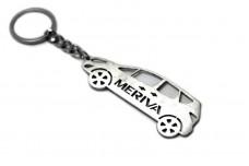 Keychain Vauxhall Meriva B 2010-2017 - (type STEEL)