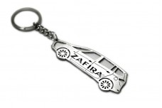 Keychain Vauxhall Zafira C 2011-2019 - (type STEEL)