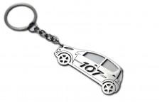 Keychain Peugeot 107 2005+ - (type STEEL)