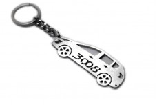 Keychain Peugeot 3008 I 2009-2016 - (type STEEL)