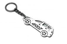 Keychain Peugeot 4007 2007-2012 - (type STEEL)