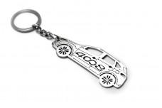 Keychain Peugeot 4008 2012+ - (type STEEL)