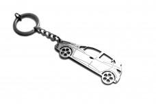 Keychain Renault Clio IV 2012+ - (type STEEL)