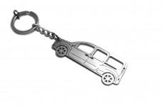 Keychain Renault Kangoo II 2008+ - (type STEEL)