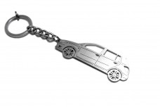 Keychain Skoda Fabia II 2007-2014 - (type STEEL)