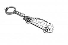 Keychain Suzuki SX4 II 2013+ - (type STEEL)