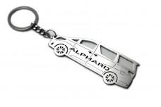 Keychain Toyota Alphard III 2015+ - (type STEEL)