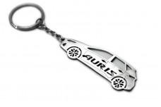 Keychain Toyota Auris II 2013+ - (type STEEL)