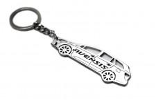 Keychain Toyota Avensis III Universal 2009-2018 - (type STEEL)