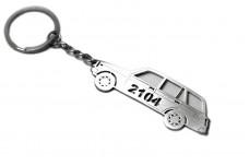 Keychain VAZ 2104 - (type STEEL)