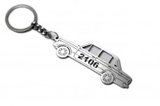 Keychain VAZ 2106 - (type STEEL)