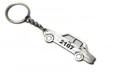Keychain VAZ 2107 - (type STEEL)
