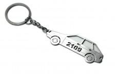 Keychain VAZ 2109 - (type STEEL)