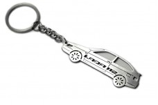 Keychain VAZ 2112 3D - (type STEEL)