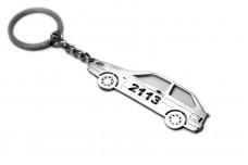 Keychain VAZ 2113 3D - (type STEEL)
