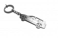 Keychain Volkswagen Atlas 2017+ - (type STEEL)