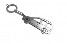 Keychain Volkswagen Caddy III 2004-2015 - (type STEEL)