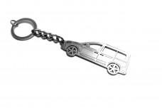 Keychain Volkswagen Caddy IV 2020+ - (type STEEL)