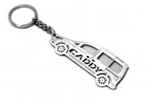 Keychain Volkswagen Caddy IV 2015+ - (type STEEL)