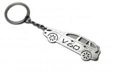 Keychain Volvo V60 2011+ - (type STEEL)