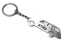 Keychain VAZ 2102 - (type STEEL)