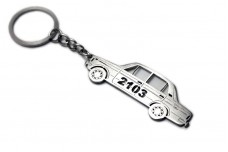 Keychain VAZ 2103 - (type STEEL)