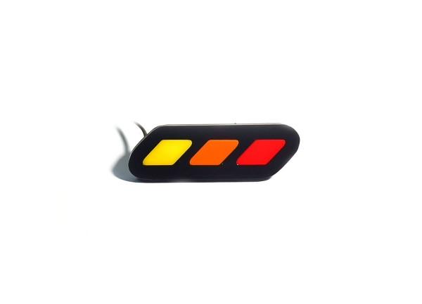 Led Badge for Toyota Rav4 V 2019+, logo Stripe (type 1) - (type Static)