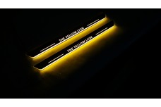 Custom led door sills - (type STATIC)