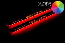 Custom led door sills - (type RGB)