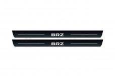 Plastic door sills for Subaru BRZ 2011+ - (type CARBON)